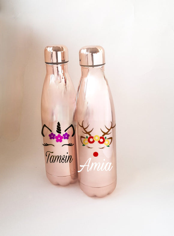 Personalised Picture Insulated Water Bottle