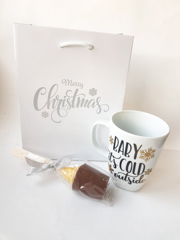 Baby It's Cold Outside Mug Set