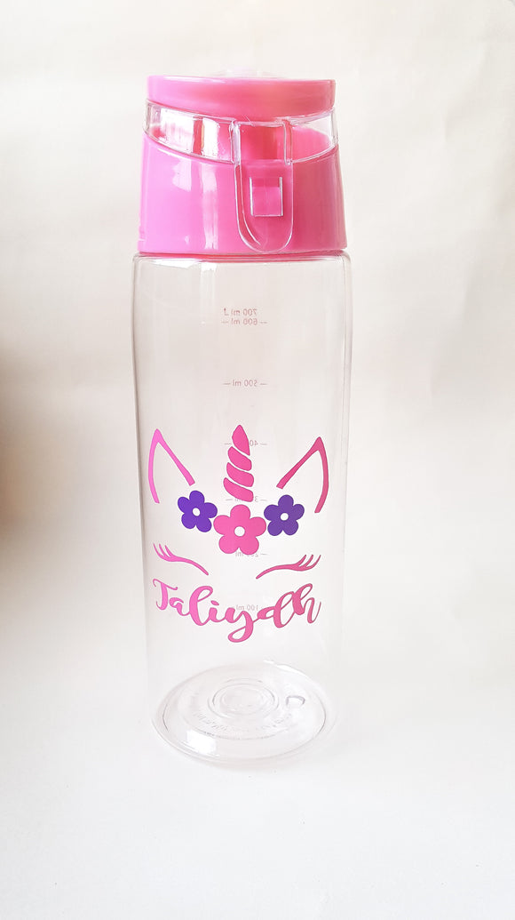 Unicorn Fruit Infuser Water Bottle