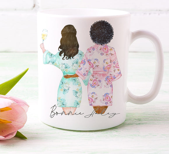 Bride and Bridesmaid Duo 2 Mug