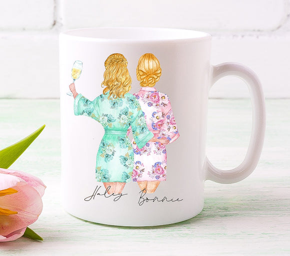 Bride and Bridesmaid Duo 3 Mug