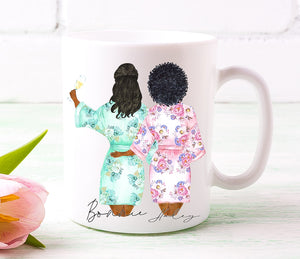 Bride and Bridesmaid Duo 1 Mug