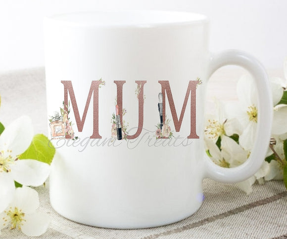 Mum Makeup Theme Mug