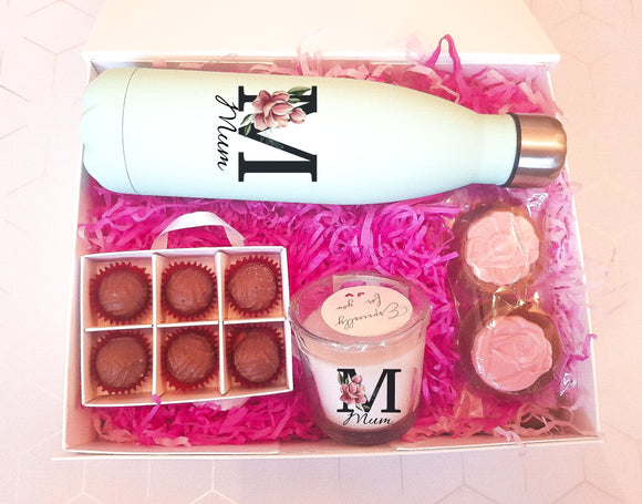 Bottle Flask & Truffles Treat Box