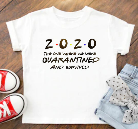 2020 Quarantine Survivor T-Shirt