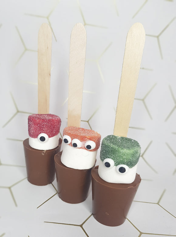 Monster Hot Chocolate Spoons