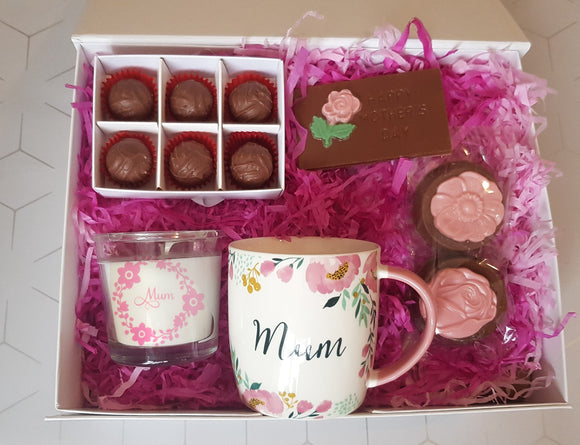 Blossom Mother's Day Mug & Chocolate Treat Box