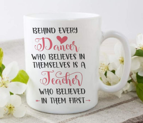 Dance Teacher Printed Mug