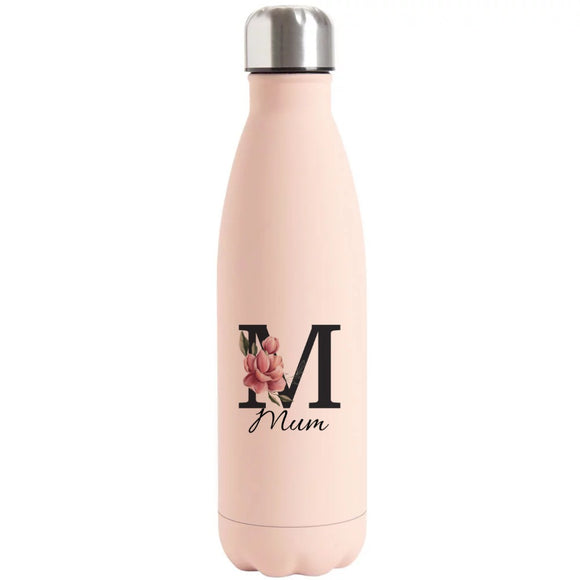 Mum Printed Bottle Flask