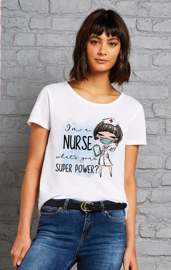 I'm A Nurse Superpower T-shirt
