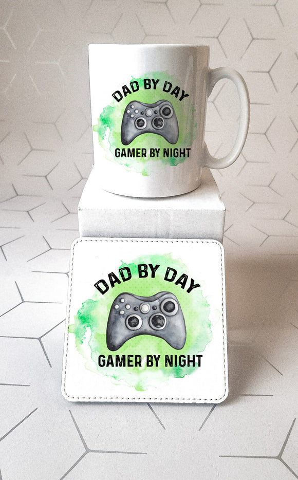 Gamer By Night  Xbox Mug