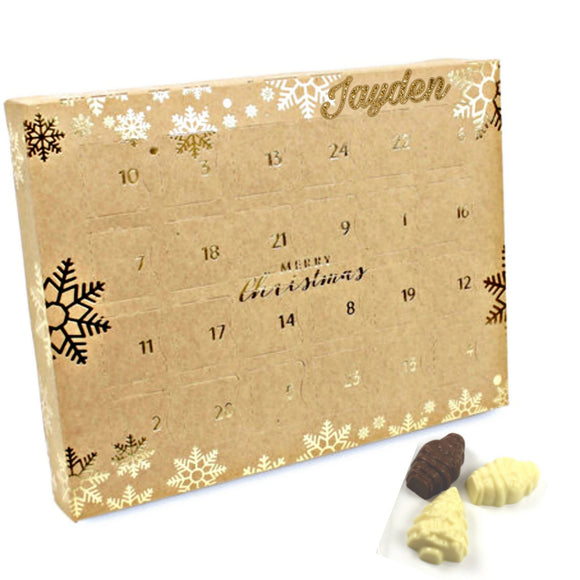 Christmas Chocolate Advent Calendar