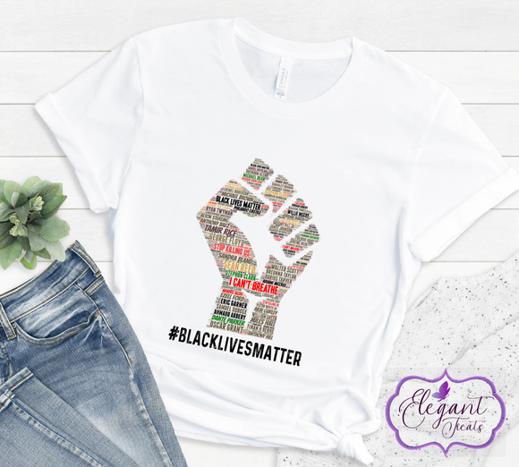 Black Lives Matter Fist T-Shirt
