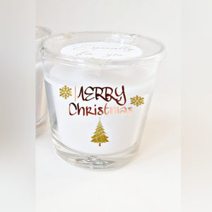 Merry Christmas Scented Candle.