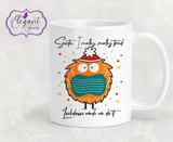 Personalised Santa Lockdown Made Me Do It Ceramic Mug