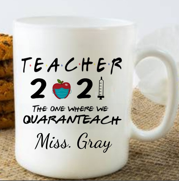 2021 Apple Teacher Mug
