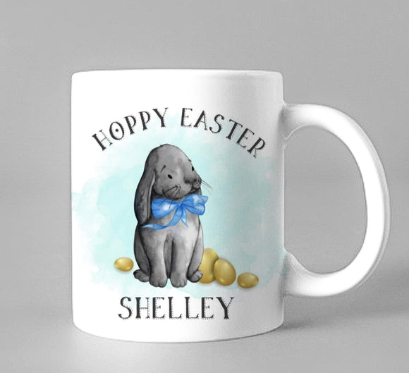Hoppy Easter Ceramic Mug