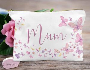 Mum Butterfly  Accessory Bag
