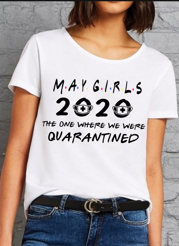 Women's 2020 Quarantine Birthday Slim Fit T-Shirt