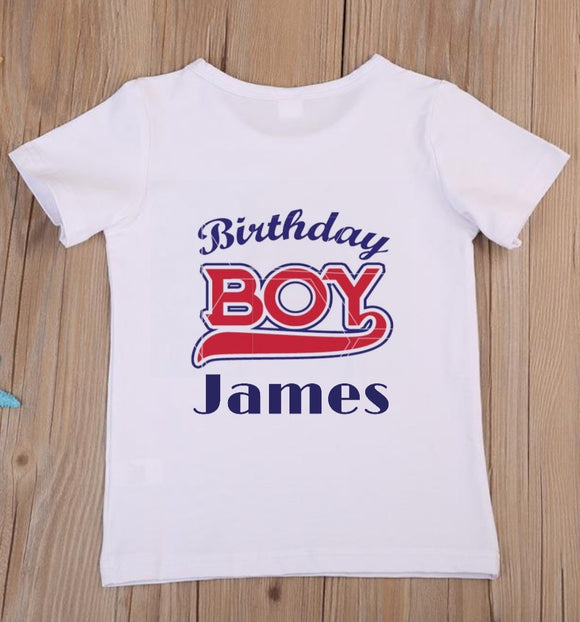 Birthday Boy Children's Birthday T-Shirt