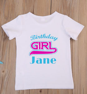 Birthday Girl Children's Birthday T-Shirt