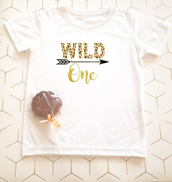 Wild One Children's Birthday T-Shirt