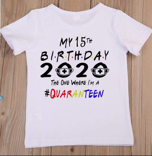 Teenager Quranteen Birthday T-Shirt