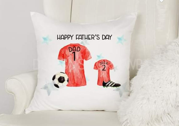 Family Football Shirt Cushion