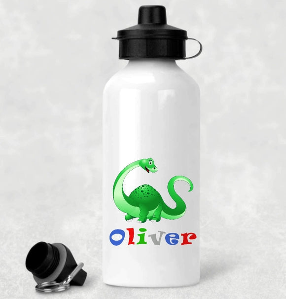 Personalised Dinosaur Aluminium Water Bottle
