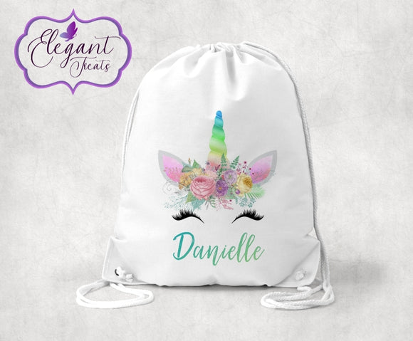 Personalised Unicorn P.E Bag