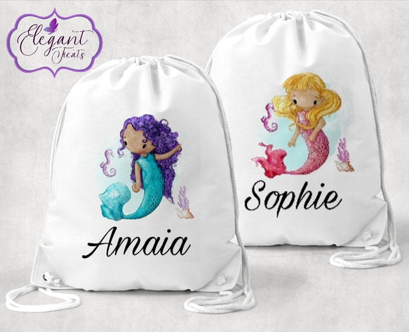 Personalised Mermaid P.E Bag