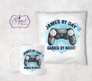 Gamer By Night Cushion