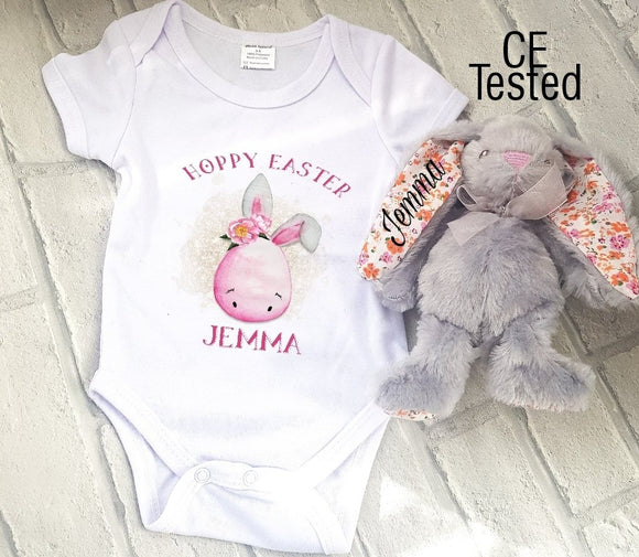 Easter Bunny Egg Vest and Bunny