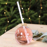 Personalised Drinking Baubles