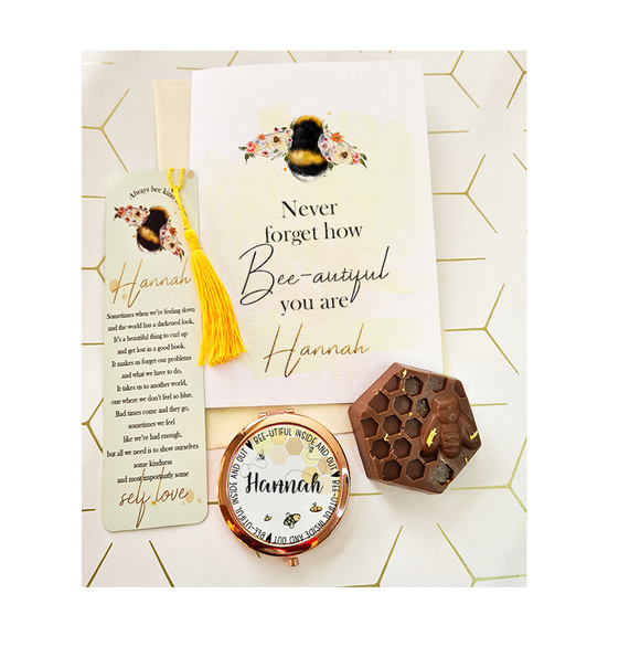 Bee Beautiful Card Letterbox Gift