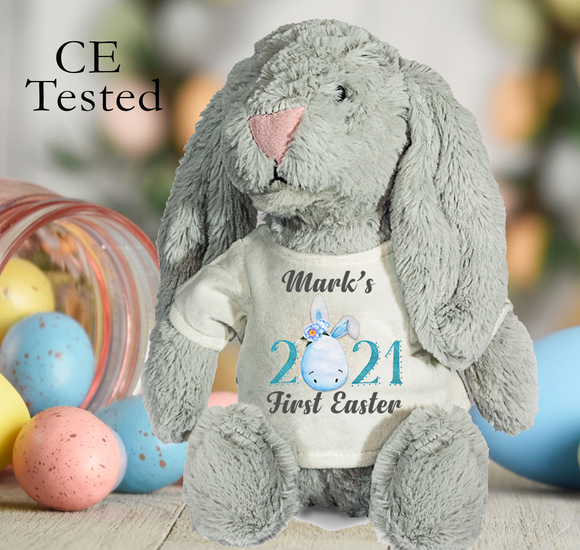 Personalised First Easter Rabbit