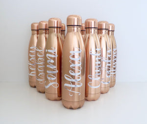 Personalised Insulated Water Bottle
