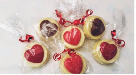 Heart Chocolate Covered Oreos