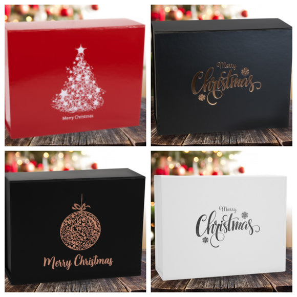 Foil Printed Christmas Gift Box