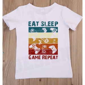 Eat Sleep Repeat Gamer T-Shirt
