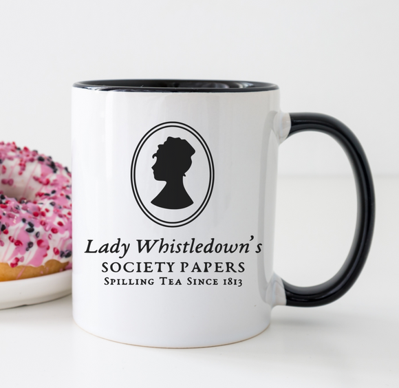 Lady Whistledown Bridgerton Mug