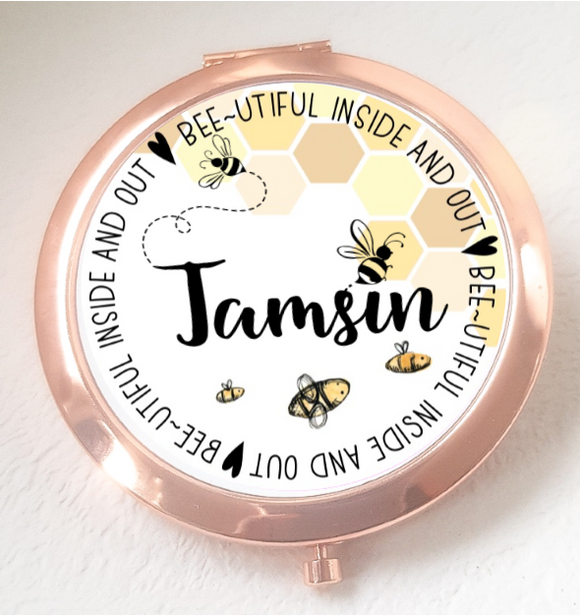 Bee-utiful  Compact Mirror