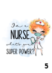 I'm A Nurse Superpower Tote Bag