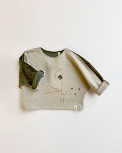 AYDEN sweater with embroidery