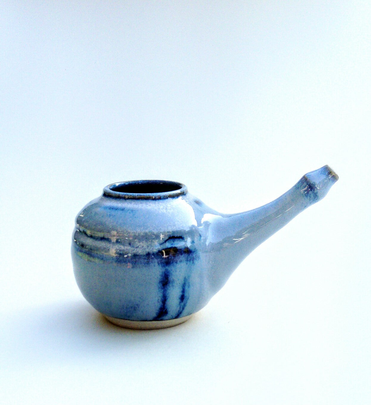 Neti pot, nasal irrigation. Blue aurora. Free delivery *