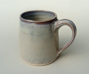 Barrel shape mug. Sunset strand.