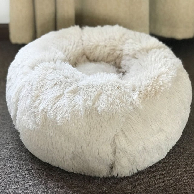 Modern Soft Plush Pet Bed
