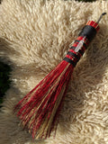 Red Altar Whisk with Crystal