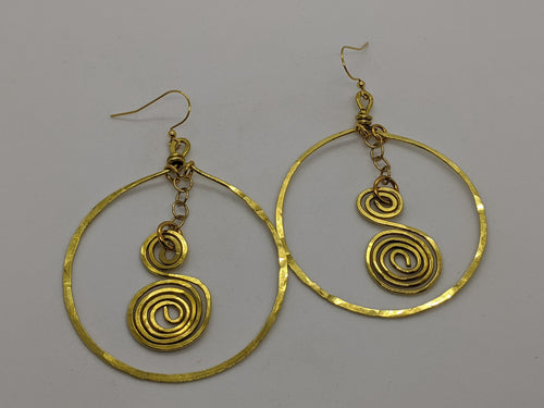 Hoops with Spirals
