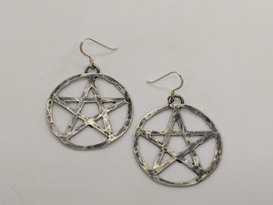 Sterling Silver Pentagrams